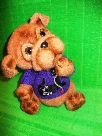 щеночек Тёмочка - Вязаное детство - Галерея - Форум почитателей амигуруми (вязаной игрушки)