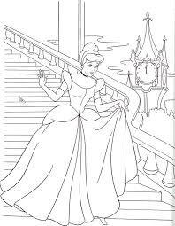 Prinzessin Schloss Malvorlage