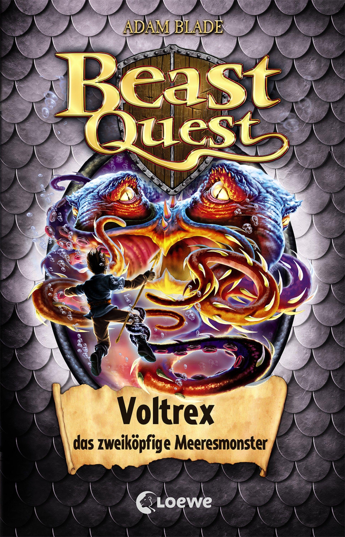 Beast Quest 58 Voltrex Das Zweikopfige Meeresmonster Kinderbuch Fur Jungen Ab 8 Jahre Beast Kinderbuchreihe Kinderbucher