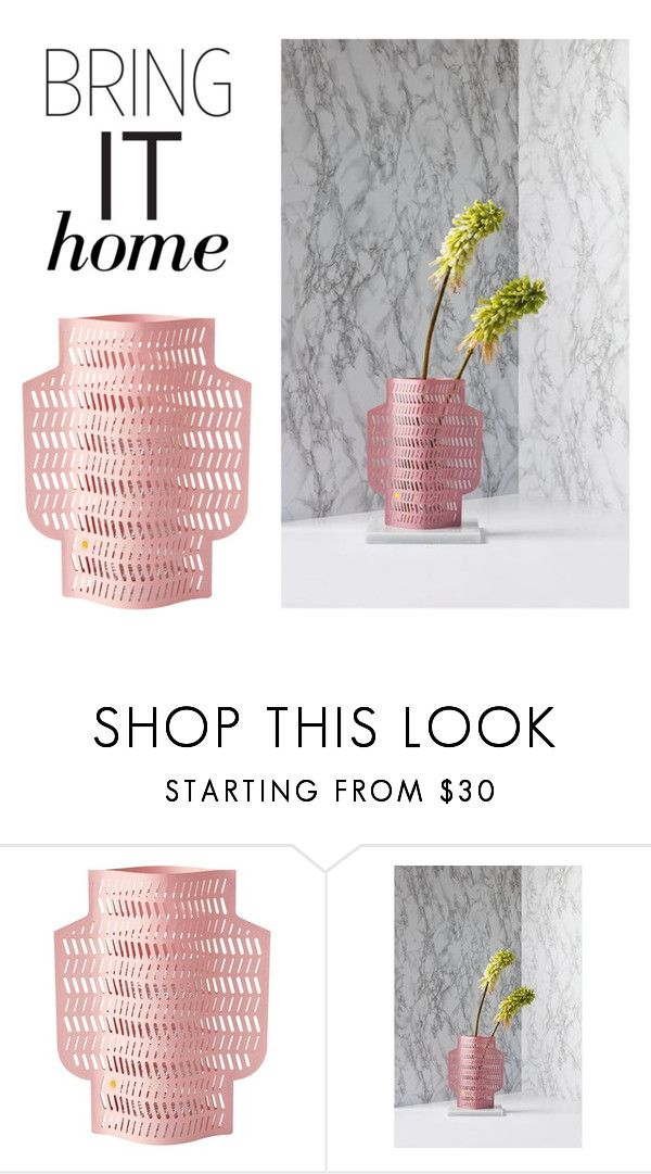 """Bring It Home: Octaevo Waterproof Paper Vase Cover"" by polyvore-editorial ❤ liked on Polyvore featuring interior, interiors, interior design, home, home decor, interior decorating, Octaevo and bringithome"