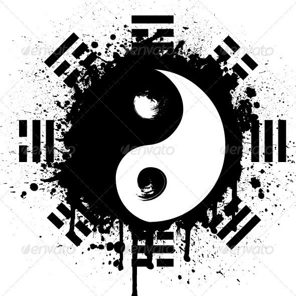 yin yang yin yang tattoo and tatoo. Black Bedroom Furniture Sets. Home Design Ideas