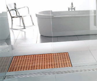 Aco Designs Wooden Shower Grate Drains For Bathrooms Designcurial Shower Floor Shower Fire Pit Table