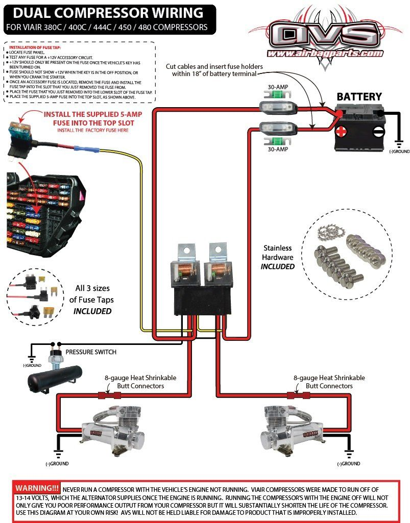 Air Bag Wiring Dat Wiring Diagrams Air Ride Ac Compressor Electronic Parts