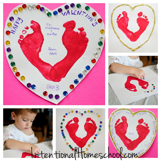 need easy toddler approved diy valentines day cards idea - Diy Childrens Valentines Day Cards