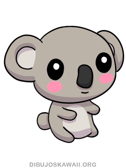 Como Dibujar Un Koala Kawaii Paso A Paso Dibujos Kawaii Dibujos Kawaii Animales Faciles De Dibujar Animales Kawaii