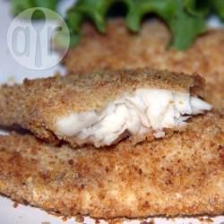 Air fried crumbed fish recipe allrecipes fish and air for Airfryer battered fish