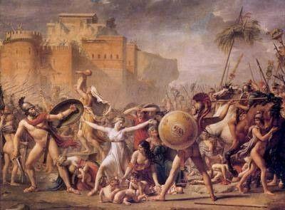 Iliada David Painting History Painting Neoclassical Art