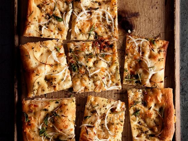 Get onion herb focaccia recipe from food network appetizers get onion herb focaccia recipe from food network great appetizerschristmas forumfinder Choice Image
