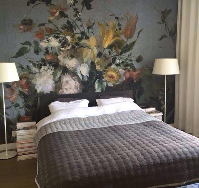 fotobehang bloemen slaapkamer | huisinrichting | pinterest | house, Deco ideeën
