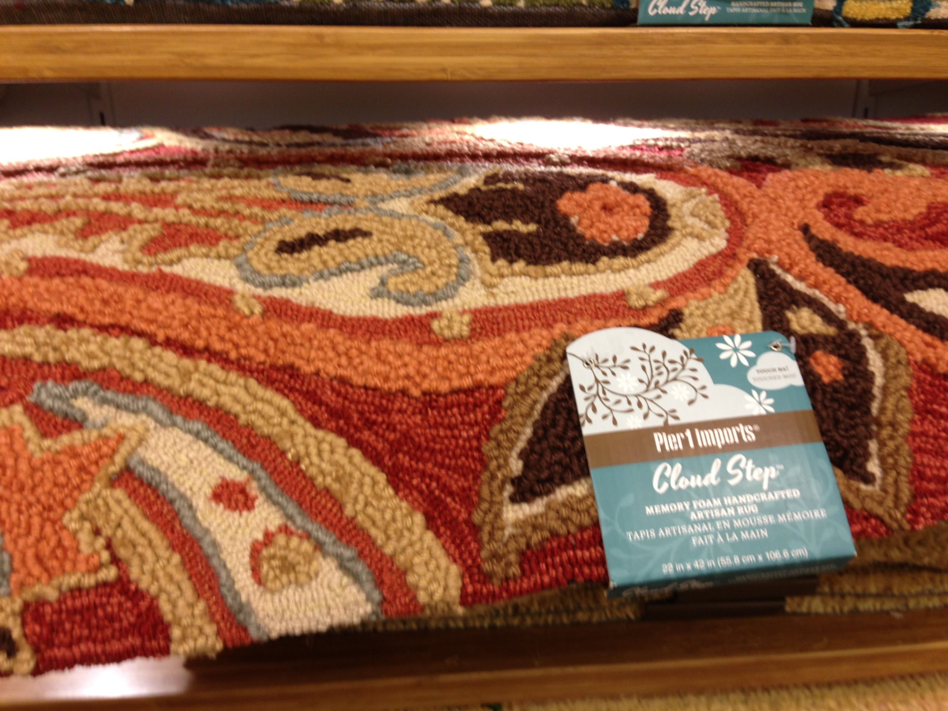Padded Kitchen Rug Pier 1 For The Home Pinterest Kitchen Rug Rugs And