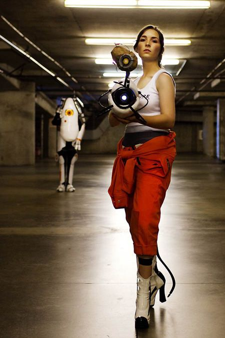 Cosplaydaily Chell And P-Body From Portal 2  Best -8698