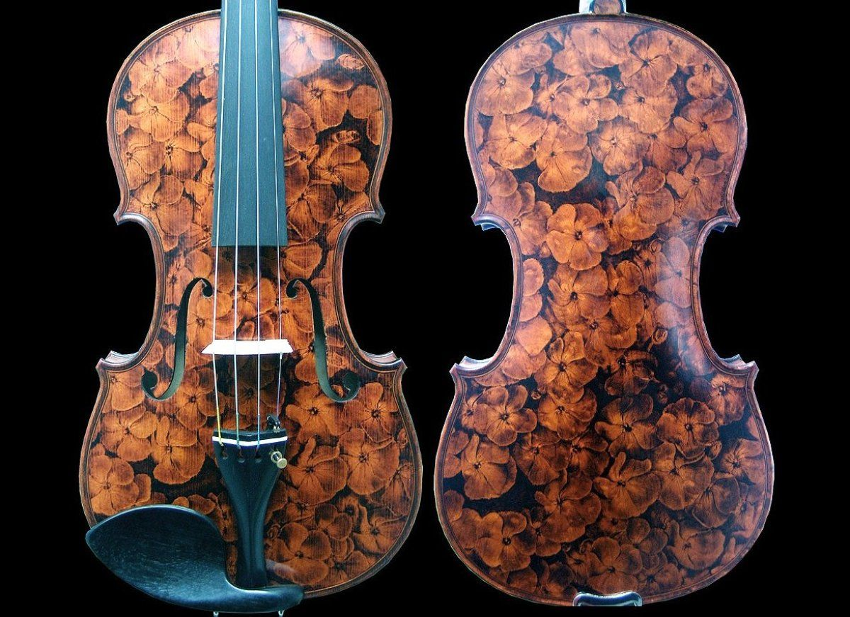 Old wood minerale interior of violin -  Give Me An Old Fence And I Ll Burn The Most Beautiful Mona Lisa On It
