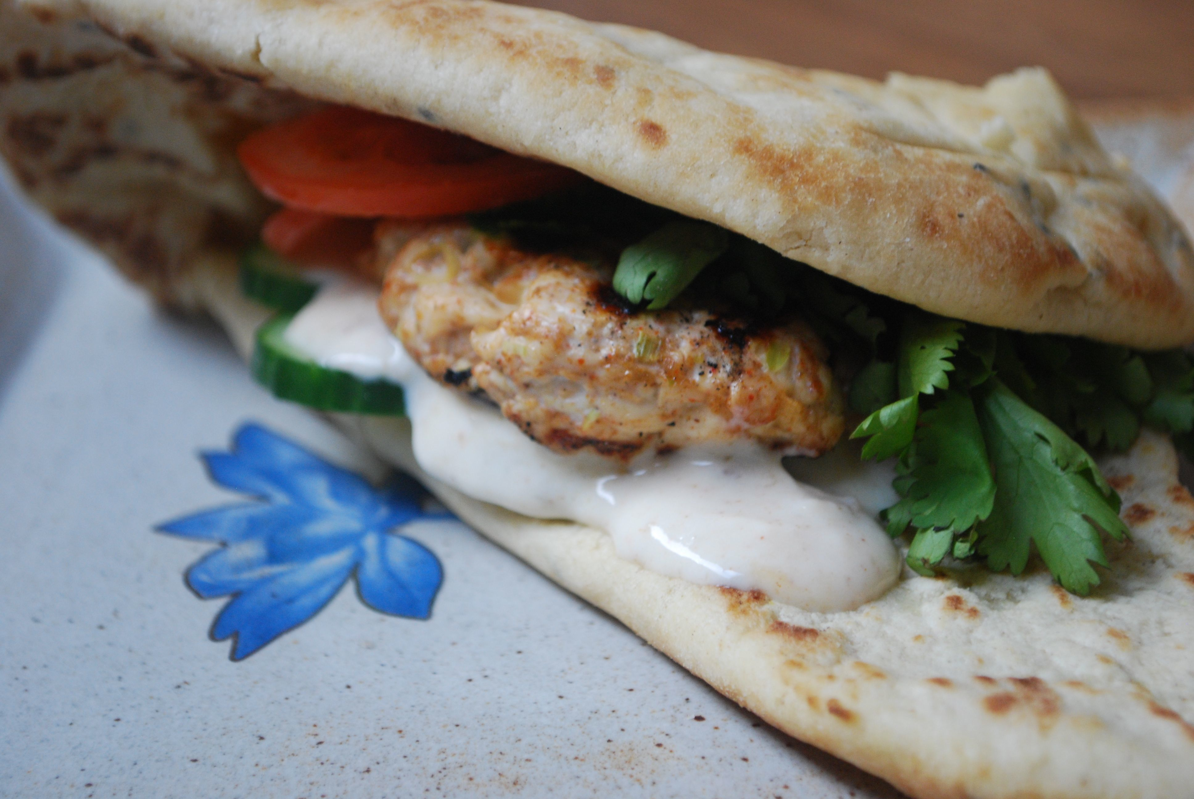 Chicken Tandoori Burger: These are a BBQ favourite but equally delicious cooked in the oven. They are much more fun than a normal burger, packed full of mellow, spicy flavour. It is really worth trying to introduce different cultural flavours to children; it is amazing how open they are to new tastes.  #CookingThemHealthy