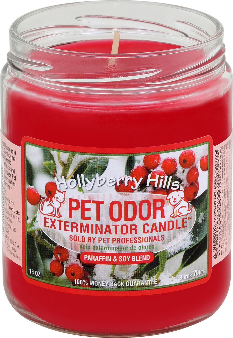 Pet Odor Exterminator Candle Hollyberry Hills Pet
