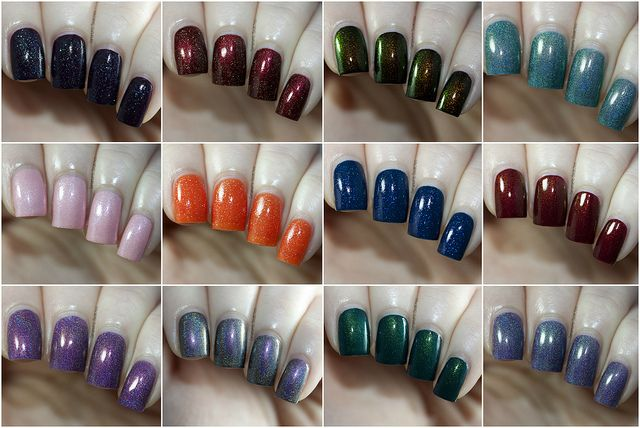 Starlight and Sparkles Collage by Samarium's Swatches, via Flickr