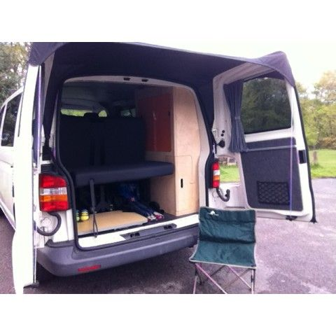 Barn Door Awning Vw T5 T6 Without Spoiler Campervan