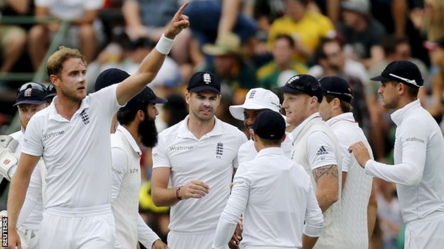 Stuart Broad England bowler will stand up and be counted