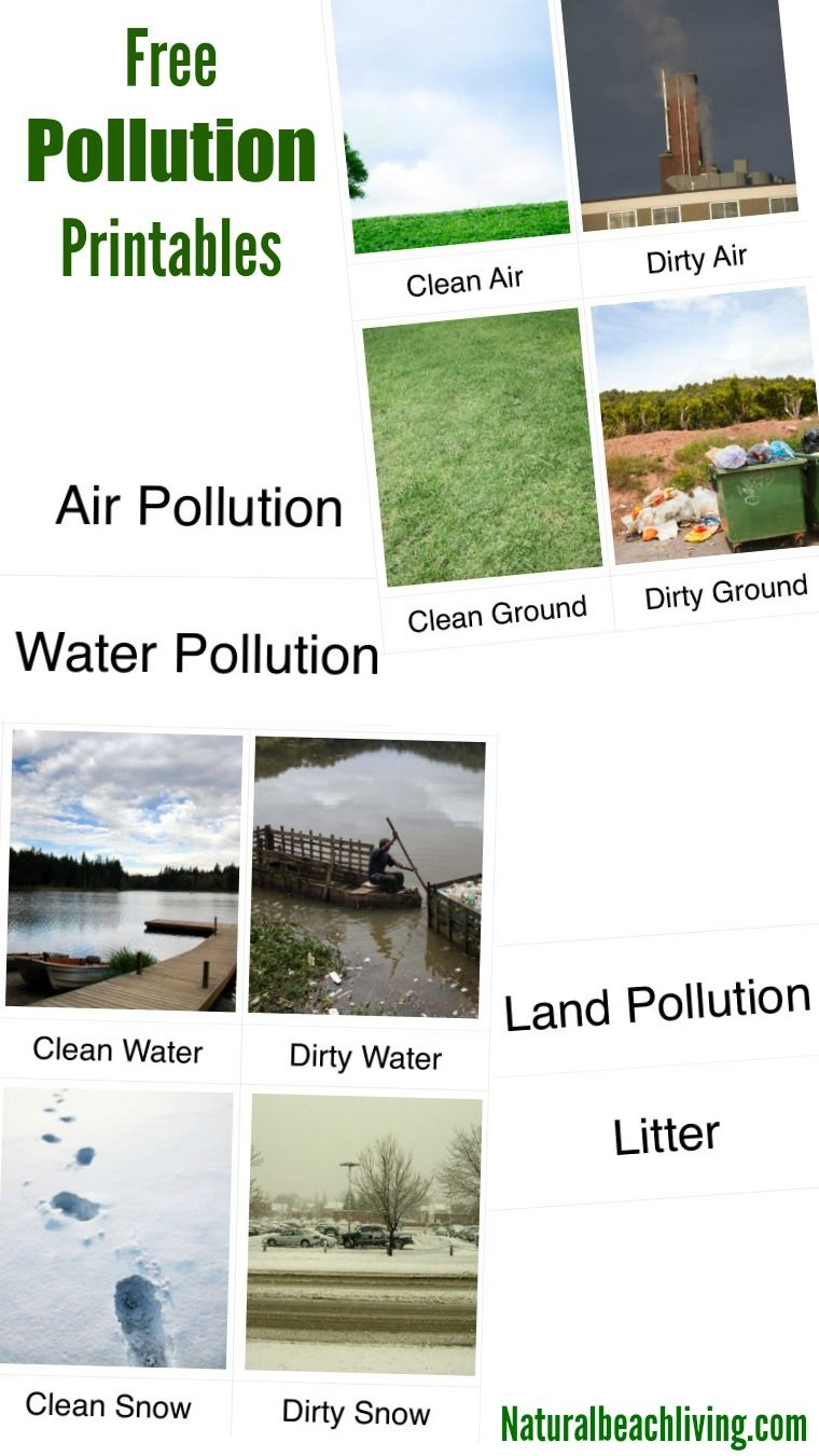 awesome ways for teaching kids about pollution outdoor scavenger teaching kids about pollution air land water pollution activities printables