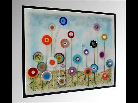 Hanging Glass On Walls Fused Glass Art Fused Glass Wall Art