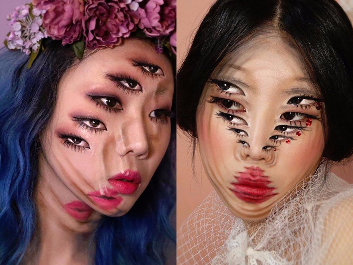 pics 25 Mind-Blowing Halloween Makeup Looks