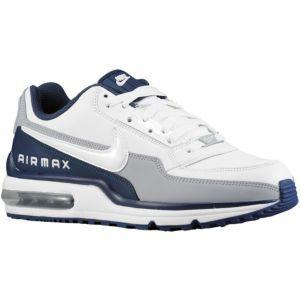 best website 34dee 098e6 Nike Air Max LTD - Mens - White Navy Silver