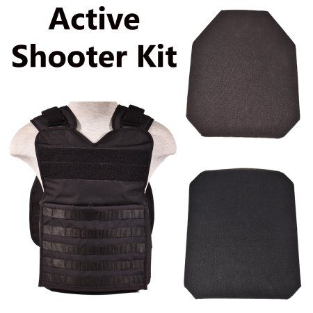 Bluestone Safety Products Active Shooter Body Armor Plate Kit | Tactical Plate Carrier and Two Level IV(4) Ballistic Plates| Plate Carrier Vest and Level 4 ...  sc 1 st  Pinterest & Bluestone Safety Products Active Shooter Body Armor Plate Kit ...
