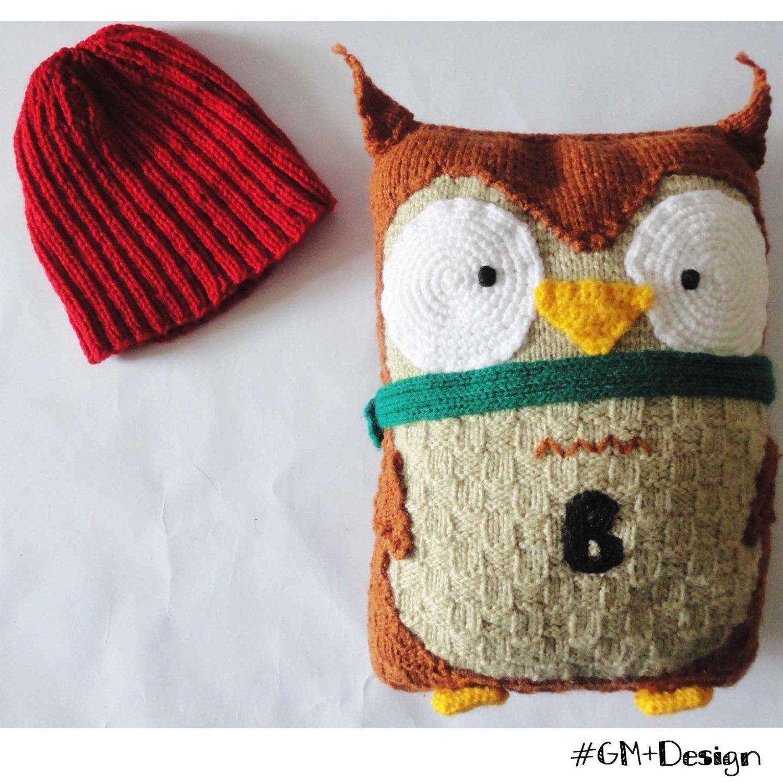 Pillows Crochet owl, Coussin crochet, Crochet cushion, Almohadas ...