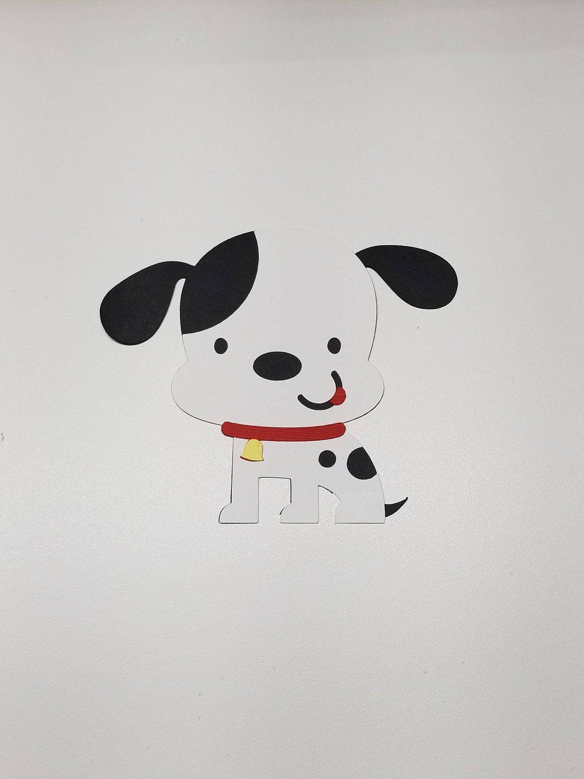Puppy Dog Cutout In