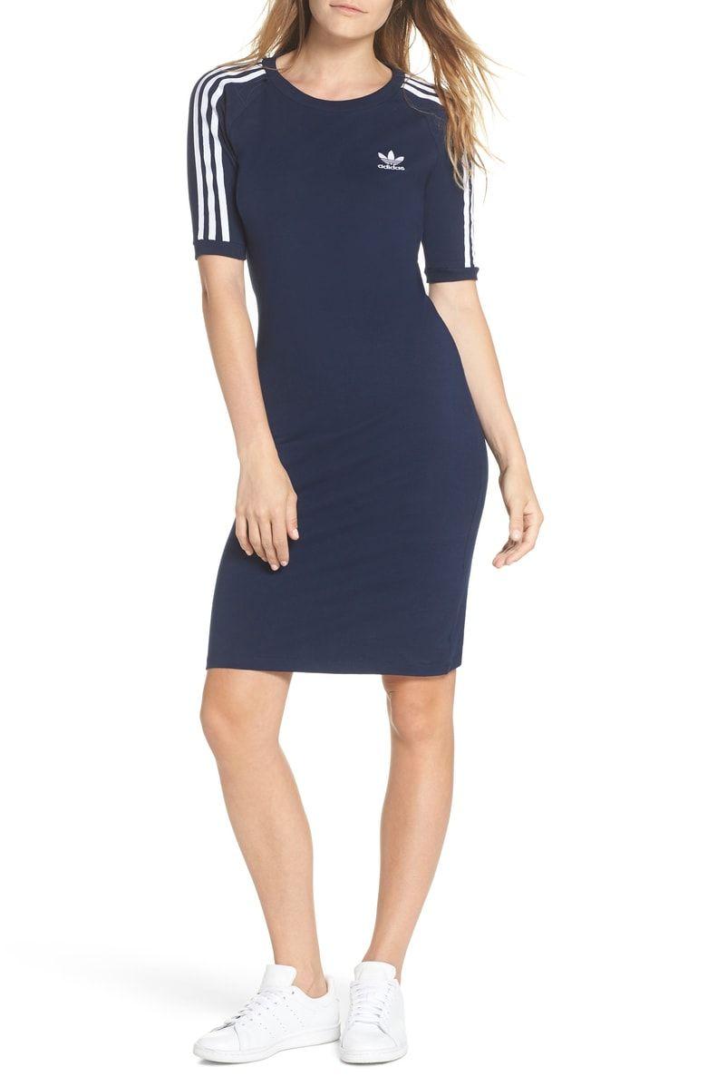 Clothes, Adidas dress, Striped dress