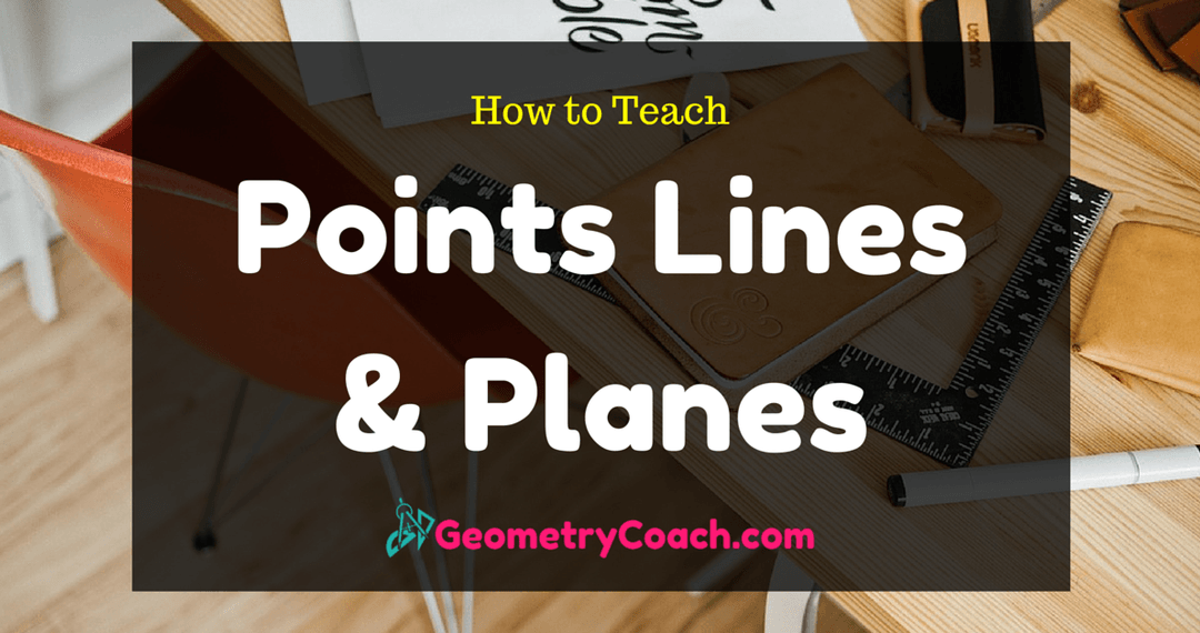 Points Lines and Planes Worksheets (With images