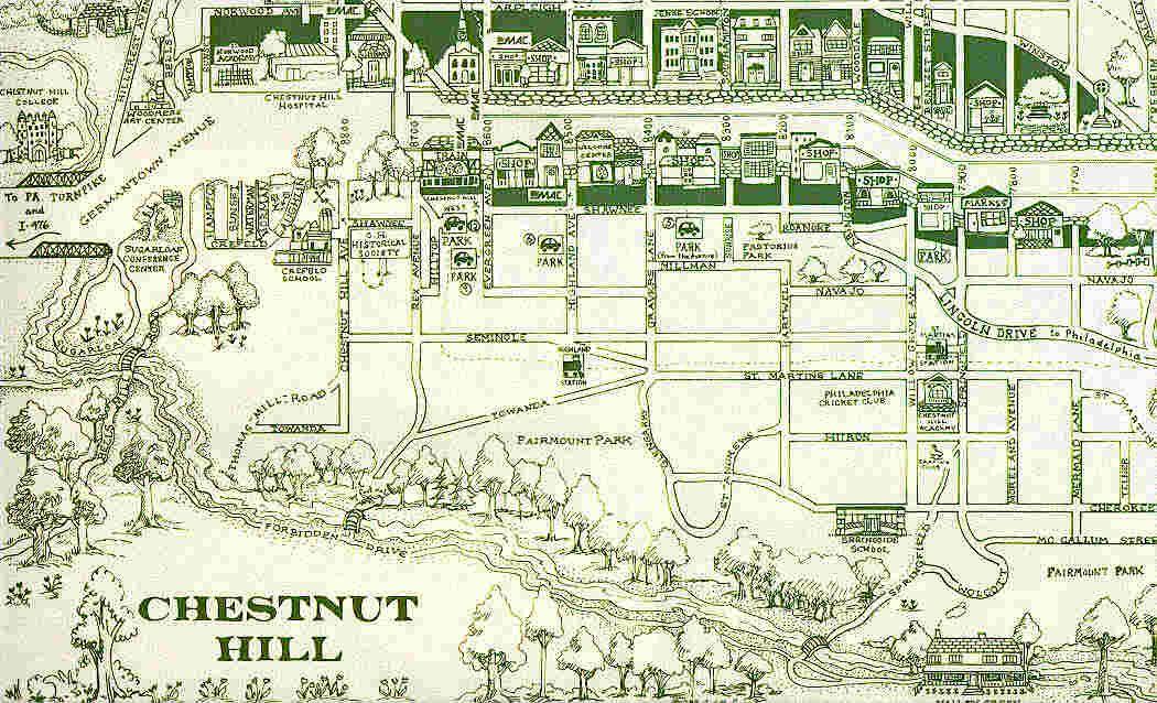 chestnut hill philadelphia map Image From Http Membrane Com Chestnuthill Map Jpg Chestnut chestnut hill philadelphia map