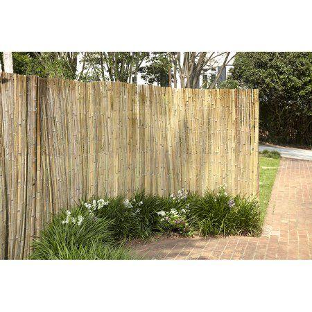 Gardenpath 1 2 O P Bamboo Fence In A Bag Walmart Com Bamboo Garden Fences Bamboo Landscape Fence Design