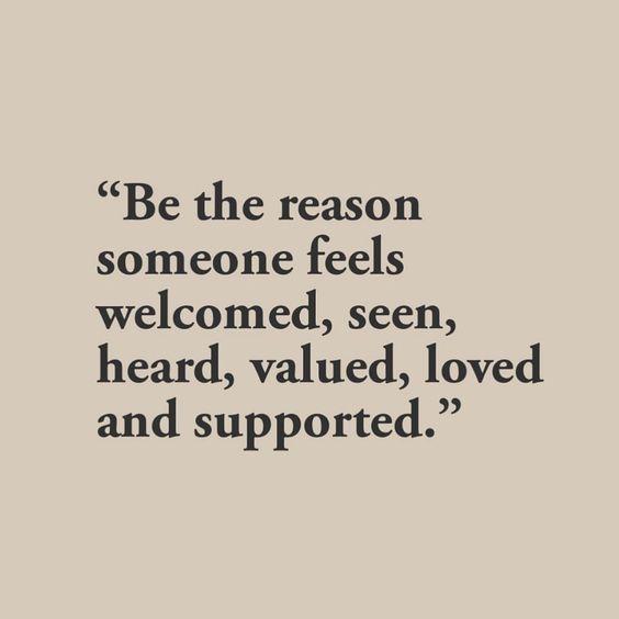 Be someone's reason...