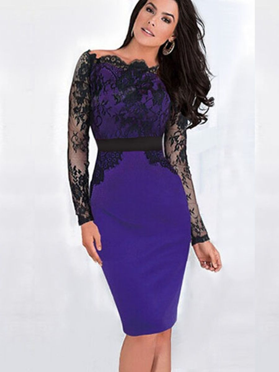 ASOS | ASOS Mesh Cut Out Long Sleeve Mini Dress