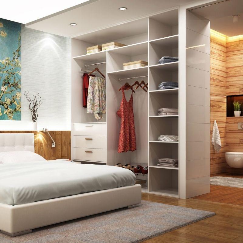 Schlafzimmermöbel Dachschräge Schlafzimmer regale