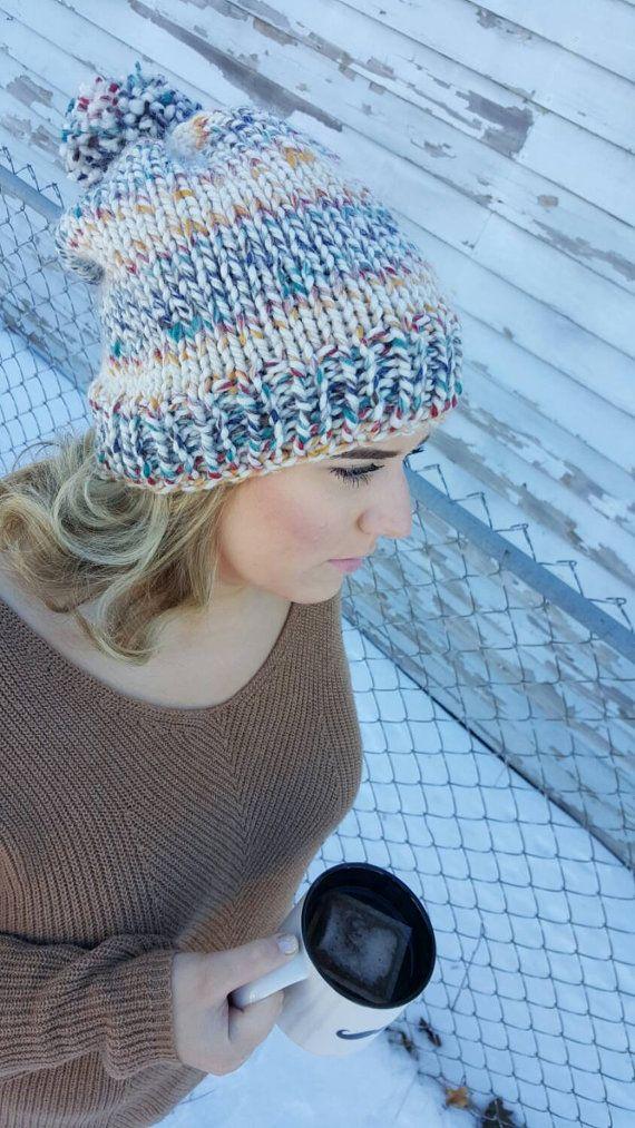 Slouchy Knit by MissFrecklesCrochet on Etsy