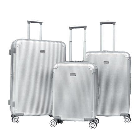 d1272b9b8ce8 Gabbiano Luggage The Genoba Collection 3-Piece Upright Spinner Set ...