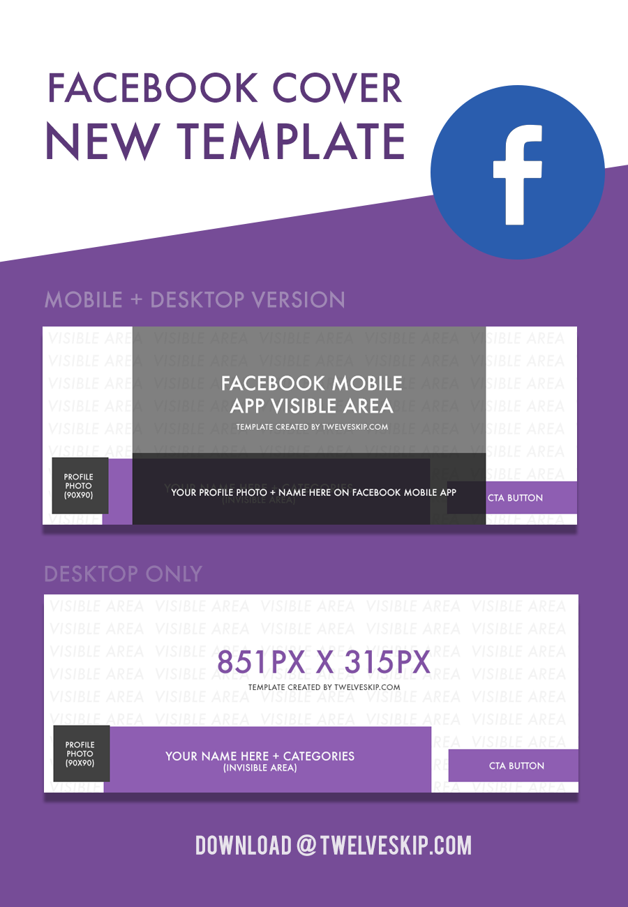 Facebook Cover New Template September 2017 News Business Marketing Social