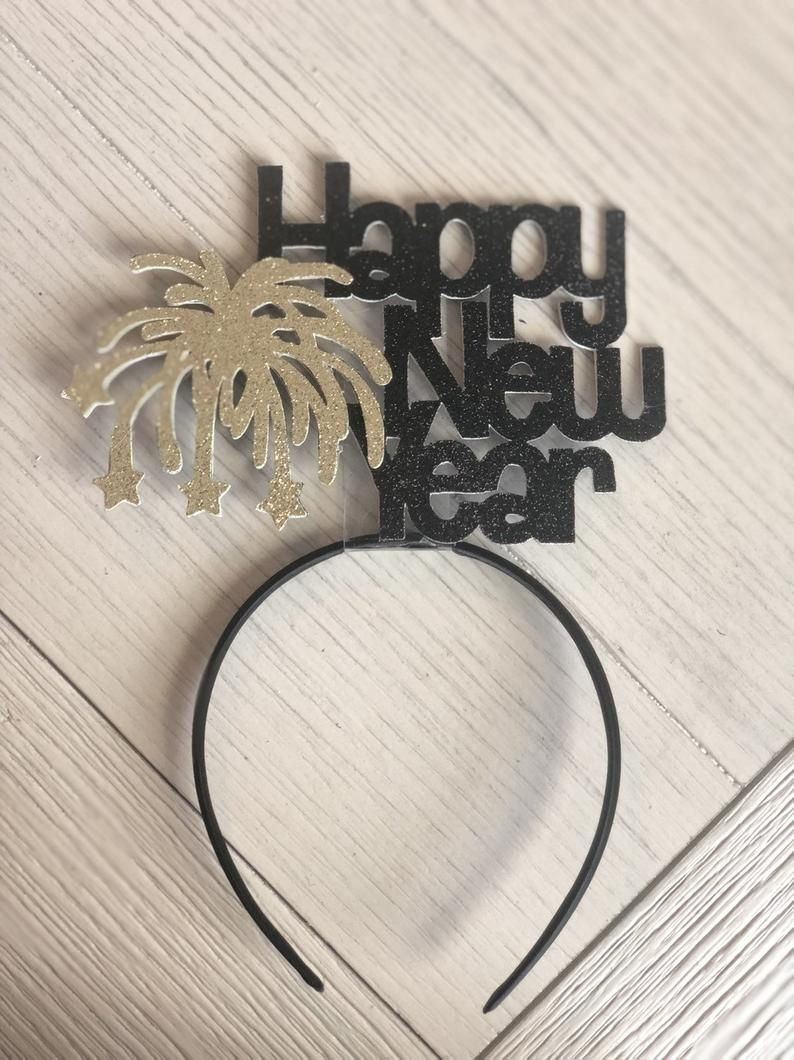 Happy New Year Headband | New Years Eve Hats | Party Hats