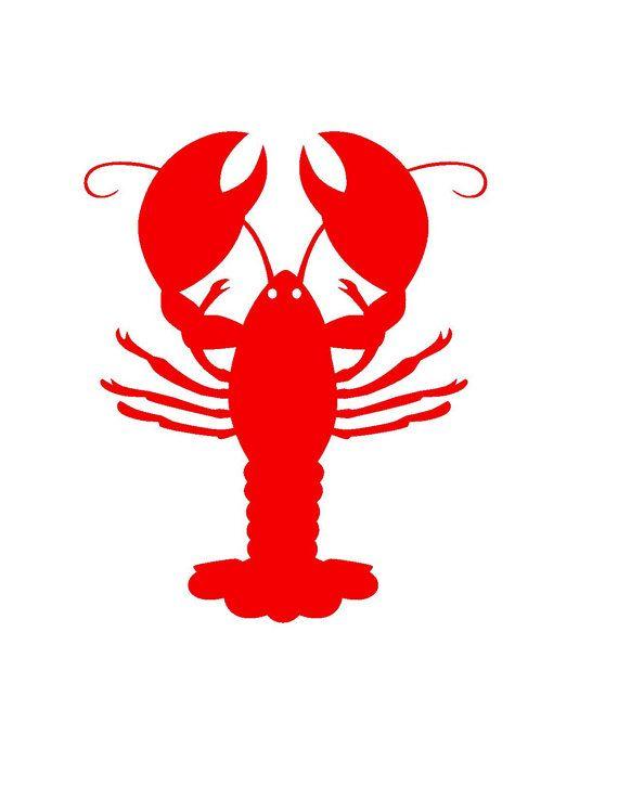 c9e13e4b DIY Vinyl Decals Crawfish/Lobster by PinkAlligatorVinyl on Etsy, $0.75