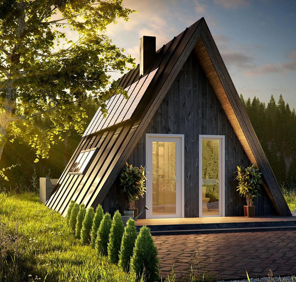 Affordable Housing With A Frame Kit Homes Aframeinterior A Frame House A Frame Cabin A Frame House Plans