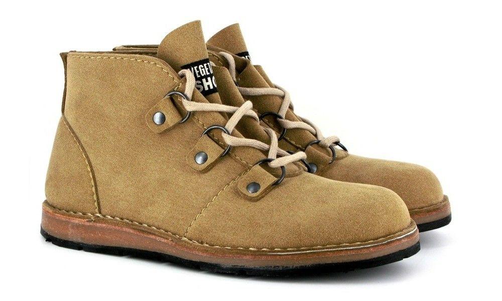 Vegetarian Shoes // Retread Desert Boot (Sand) // 115€