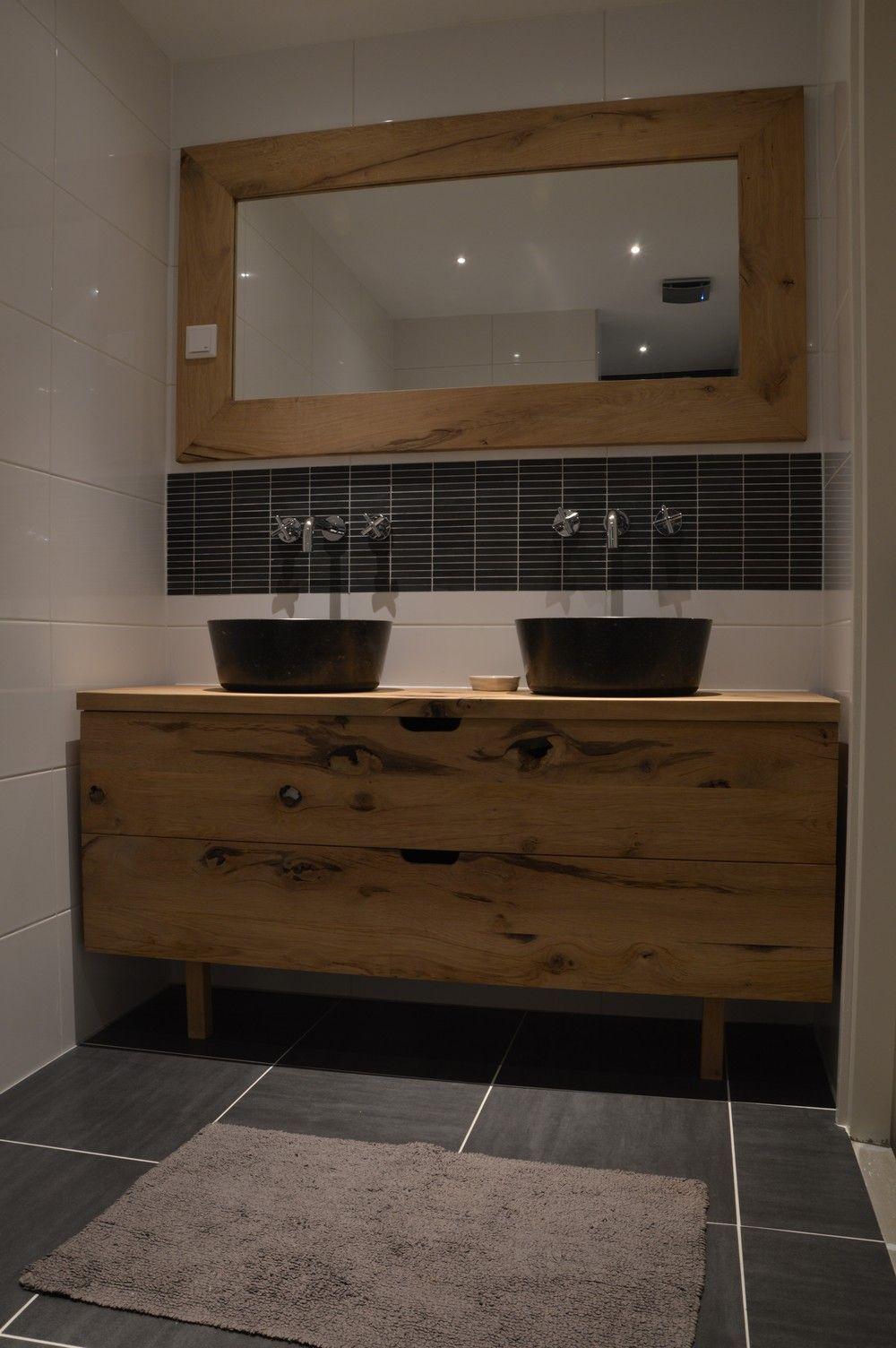 badkamermeubel hout - Google Search | Bathrooms | Pinterest