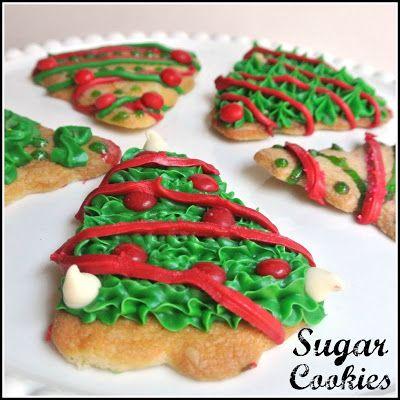 Christmas Sugar Cookies Recipe Christmas Sugar Cookies