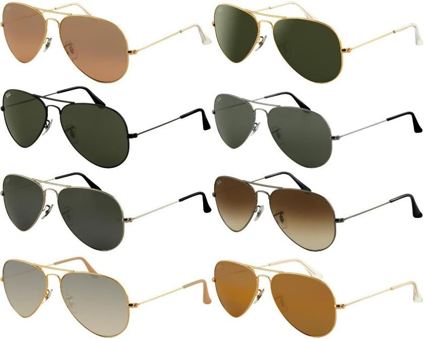 sunglasses aviator ray ban  Do something that make you looks different in this summer!Rayban ...