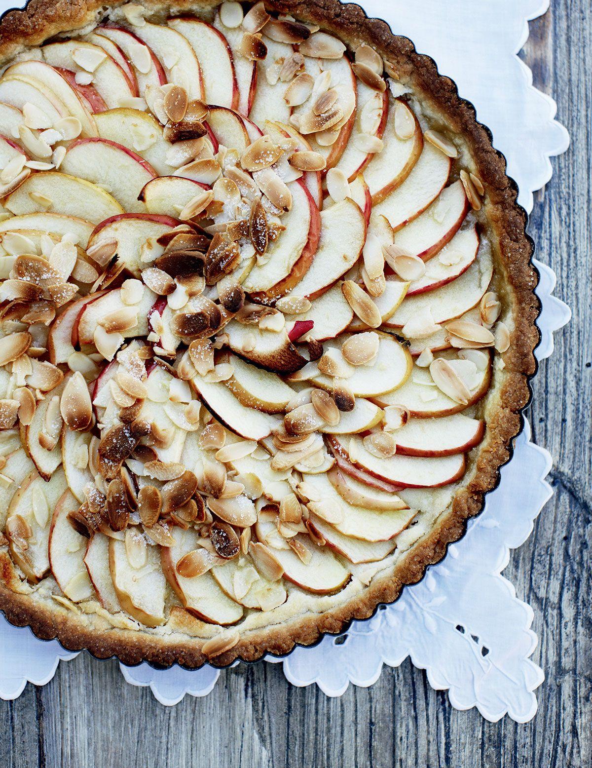 Resepti: Omenatorttu ja mantelikreemi