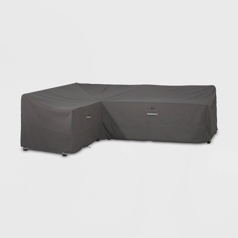 Ravenna Left Sectional Cover Slate Classic Accessories
