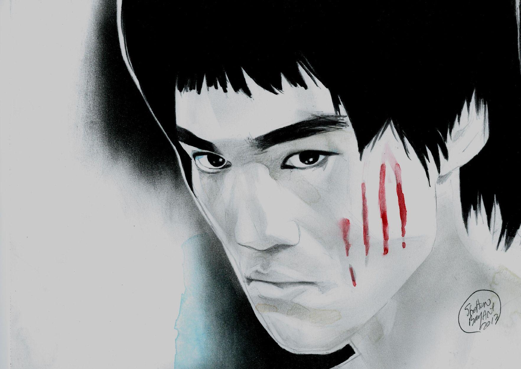 Bruce Lee by Shelton Bryant