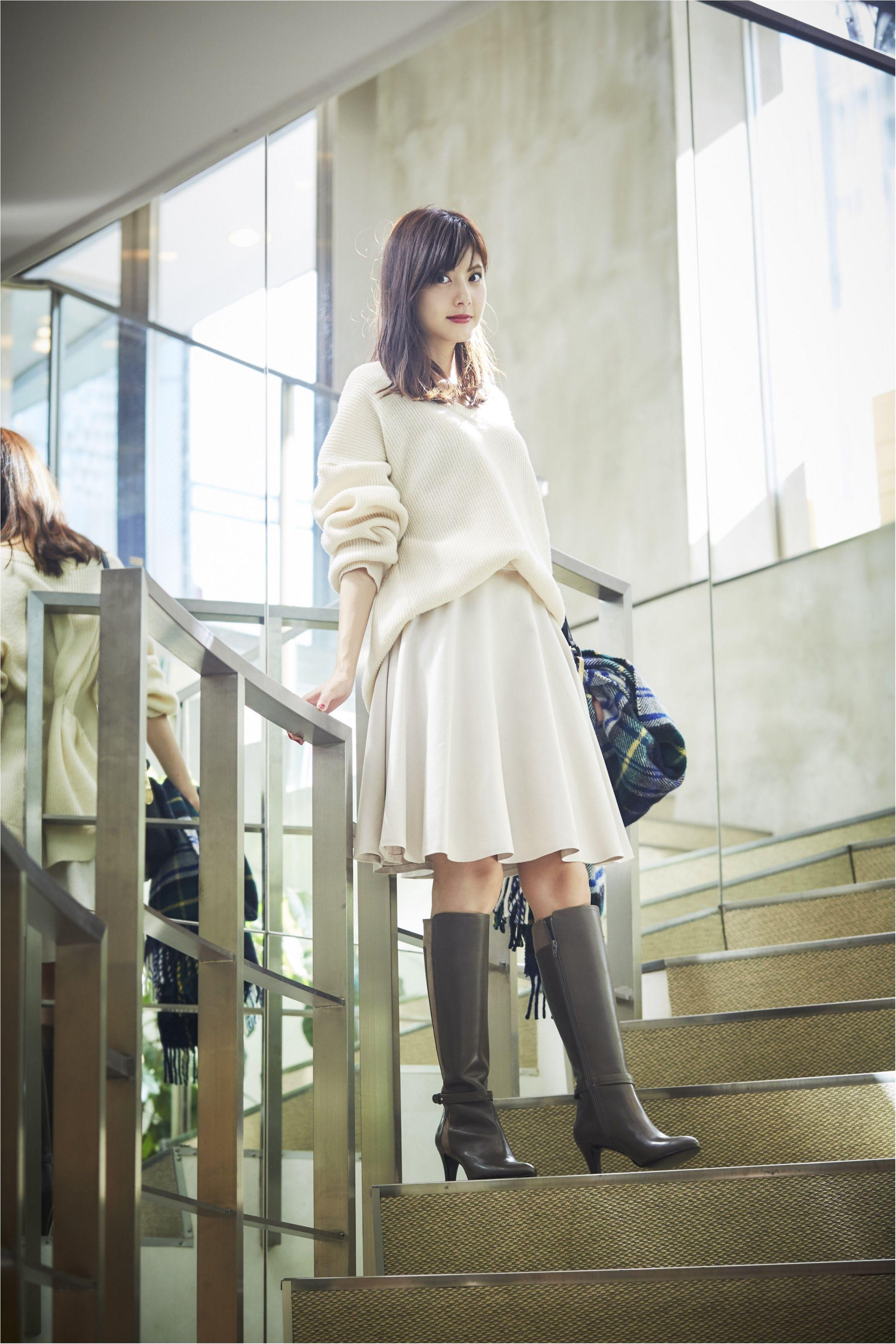 佐藤ありさ直伝 女子会もデートも 愛されフェミニンブーツ さえあれば ダイアナがanswer 秋冬編 その5 美しいアジア人女性 韓国スタイル ファッション