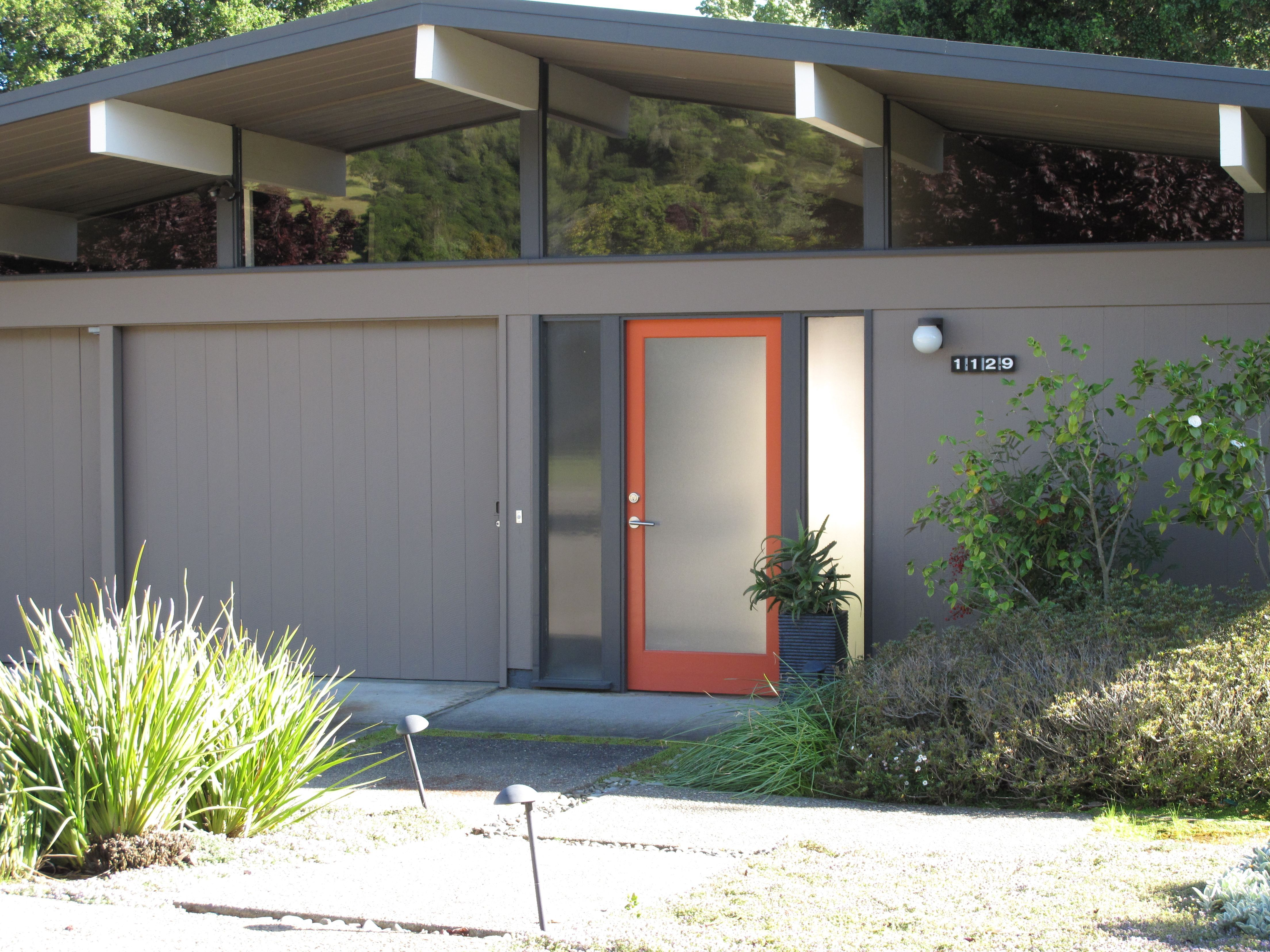 Great House Colors Mid Century Exterior Modern House Colors